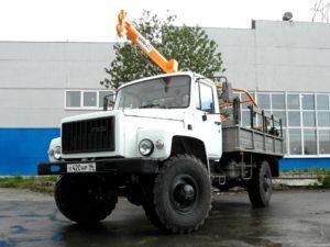 Ямобур БКМ 317 на базе ГАЗ 3308