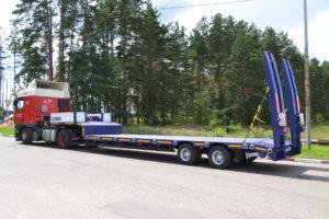 Низкорамный трал 15-25 тонн