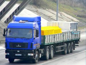 Длинномер МАЗ — 12 метров