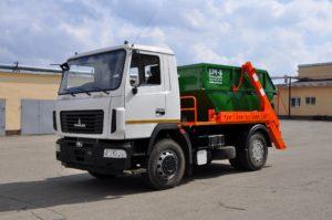 Мусоровоз МАЗ МКС-3501 — 8 м3 9 тонн