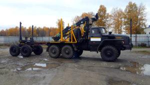 Лесовоз Урал 4320