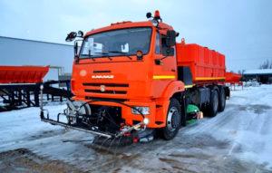 Поливомоечная машина на базе КАМАЗ 4325 — 8 м3