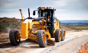 Грейдер Caterpillar 160 — 20,6 тонны