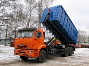 Мусоровоз КАМАЗ Мультилифт — 27 м3 16 тонн